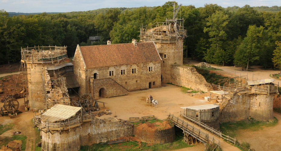 These People are building a Medieval Castle Without Using Any New Technology 8