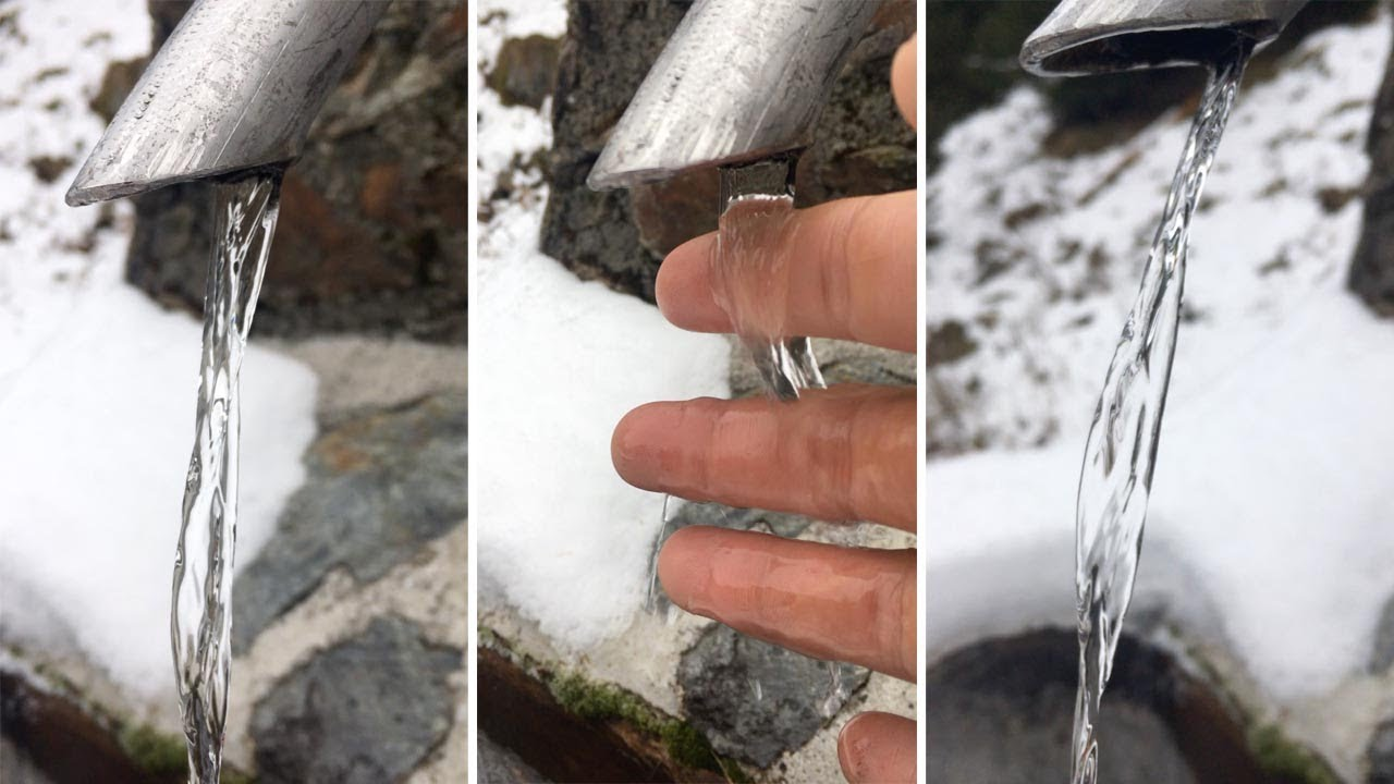 Optical Illusion Sees Flowing Water Appear Completely Frozen 5