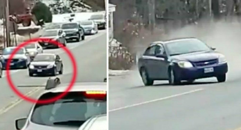 Man Films High-Speed Police Chase As Car Crashes Into Him 7