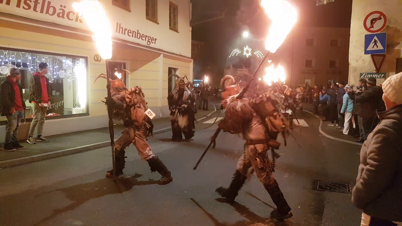 Krampus Parade Shows Scary Christmas Traditions 7