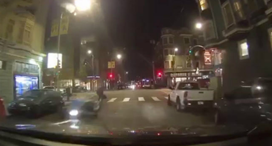 Woman Arrested After Hit Motorcyclist In San Francisco 6