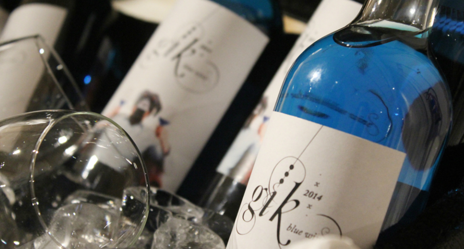 Forget Red, White And Rose – Now There's A New Wine On The Scene – And It's Bright Blue 8