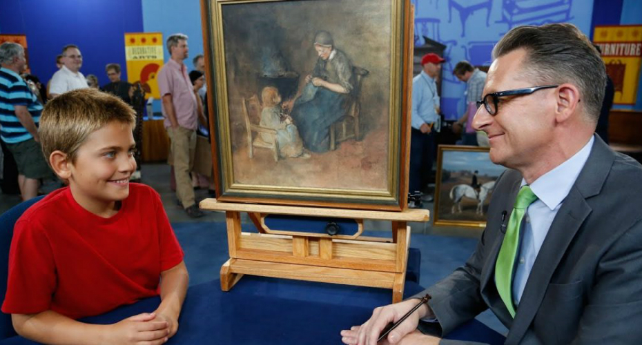 Young Boy Picked Up An Old Painting For $2 – But Then He Learned Its Astounding True Value 7