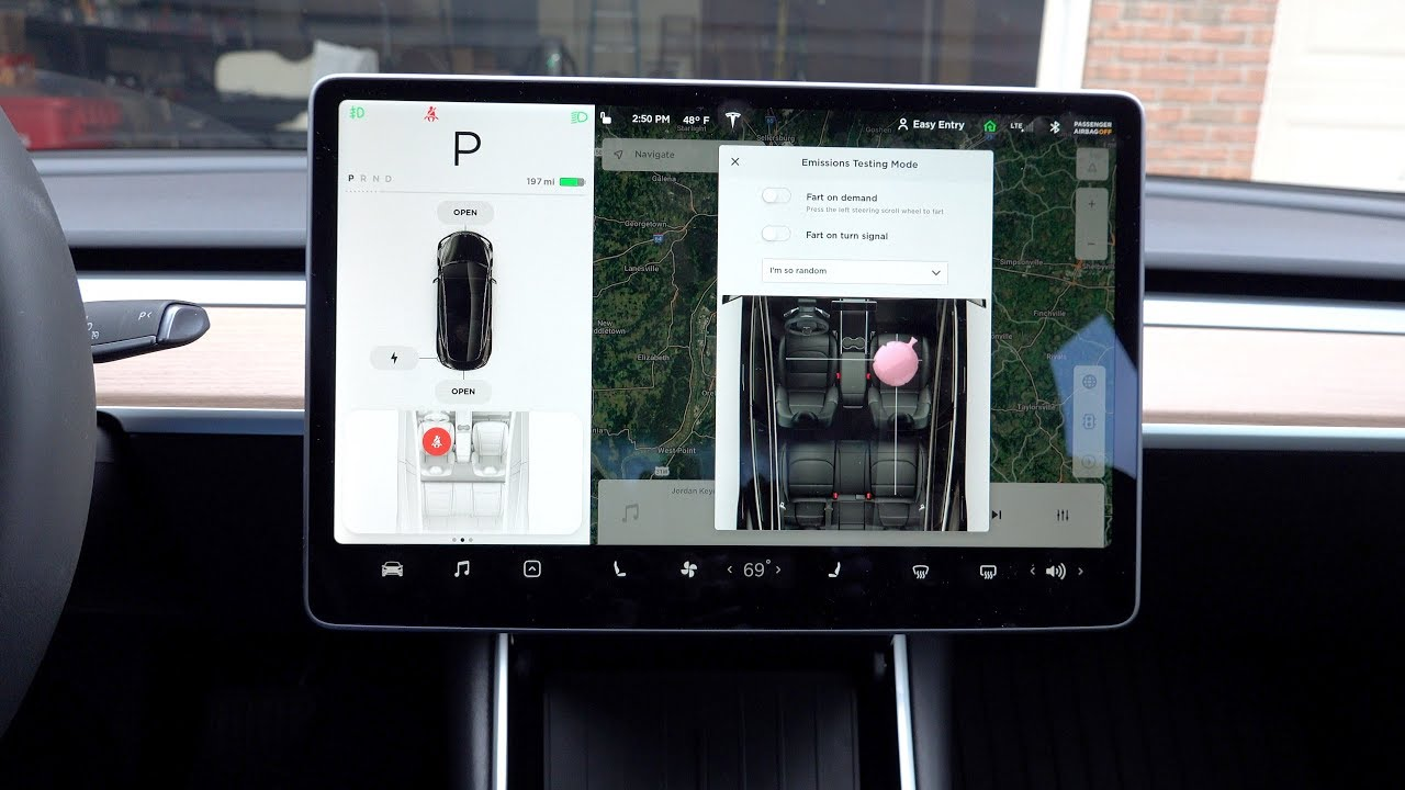 """Fart On Demand"" Is Now A Feature In Tesla Vehicles 1"