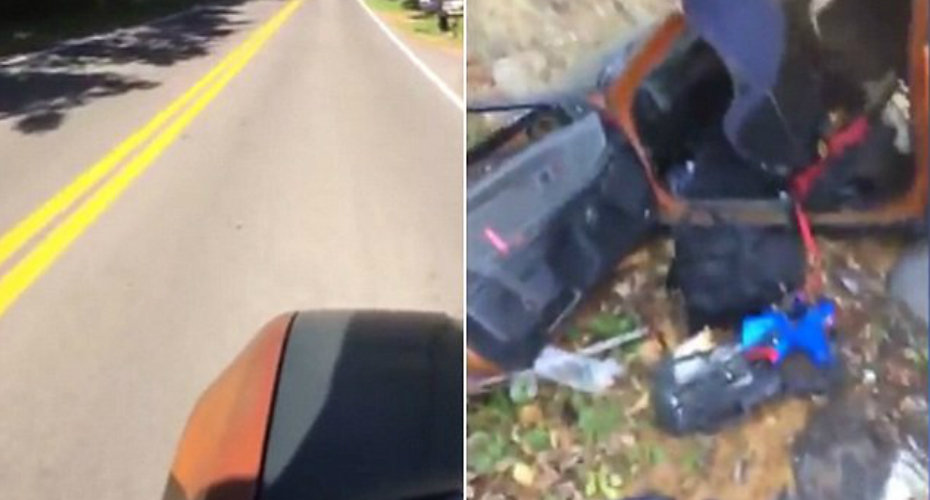 Driver Decided To Skateboard His Dead Car Down a Hill And It's The Ultimate Face Palm 9