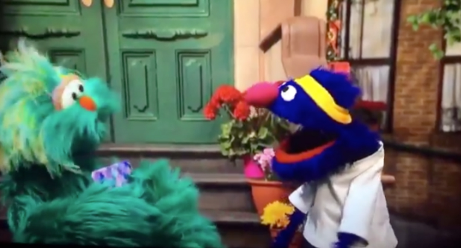 "Did ""Sesame Street"" Star Drop the F-Bomb? 3"