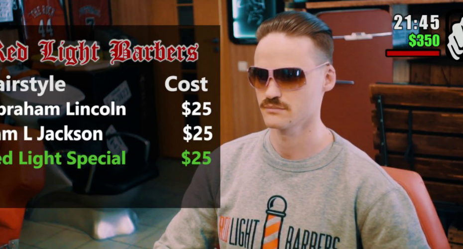 Local Barbershop Makes a GTA Mission Style Ad 6