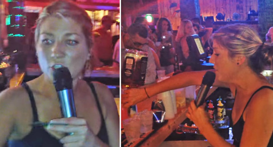 Watch This Amazing Nashville Bartender Belt A Carrie Underwood Song While Taking Drink Orders 5