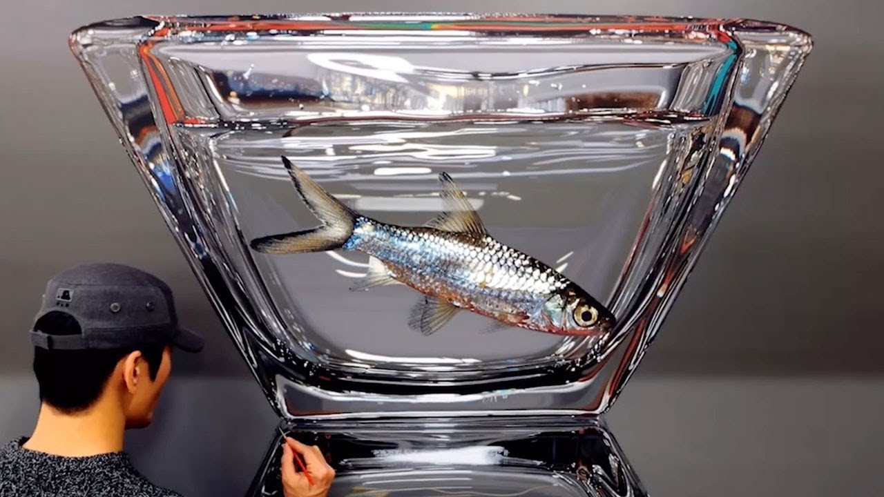 Artist's Realistic 3D Artwork Of Fish 8