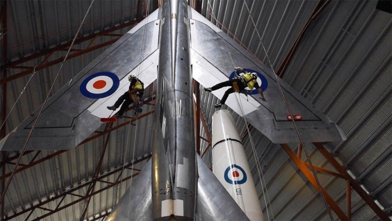 RAF Planes Get Annual Clean 6