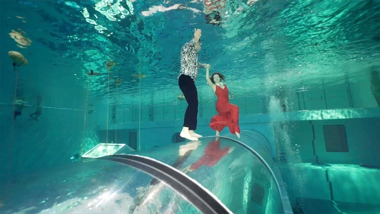 Record For Longest Dance Underwater Holding Breath 6