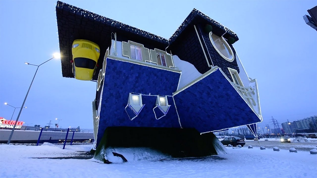 A House in Moscow Where Everything Is Upside Down 1