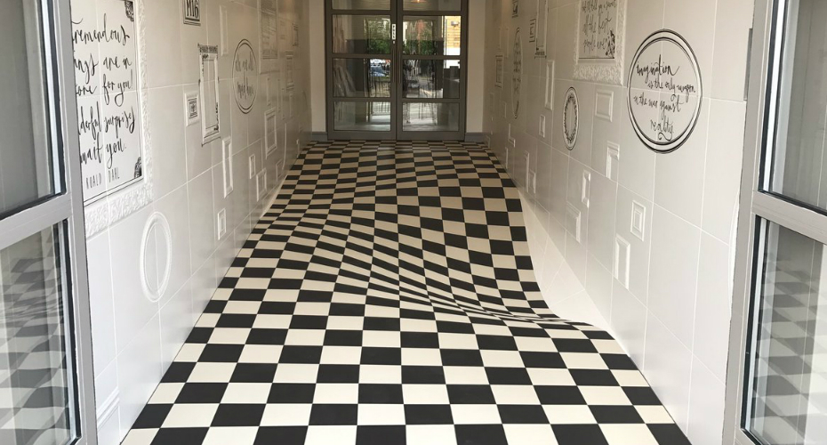 This Tile Company's Floor Is A Wild Optical Illusion 2