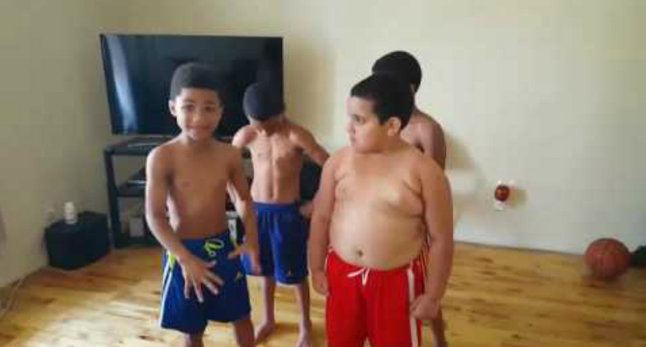 Young Jamaican Trainer Puts His Friends Through Rigorous Workout 8