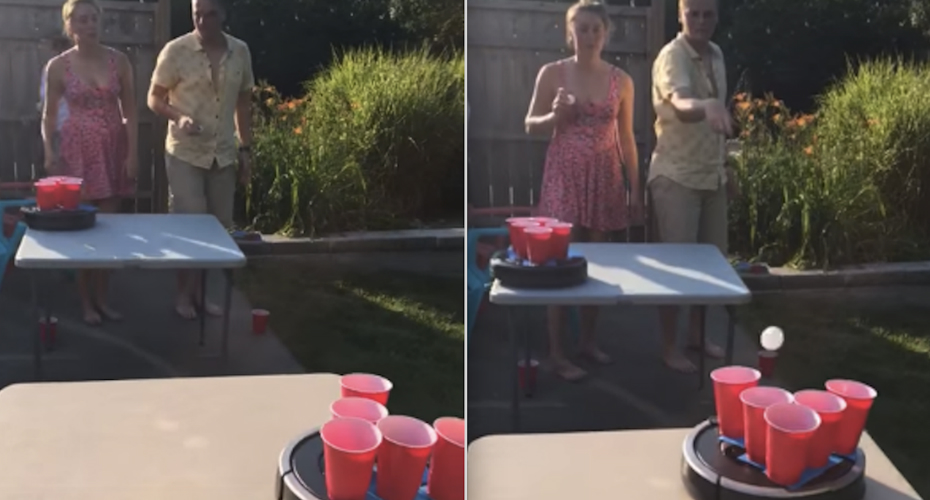 Everyone Will Buy Two Roombas, Because It's Time For Roomba Pong 8