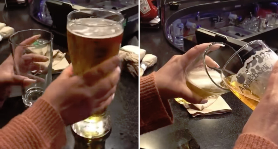 "Guy Realizes That The ""Large"" And ""Small"" Beers Are Basically The Same Size 10"