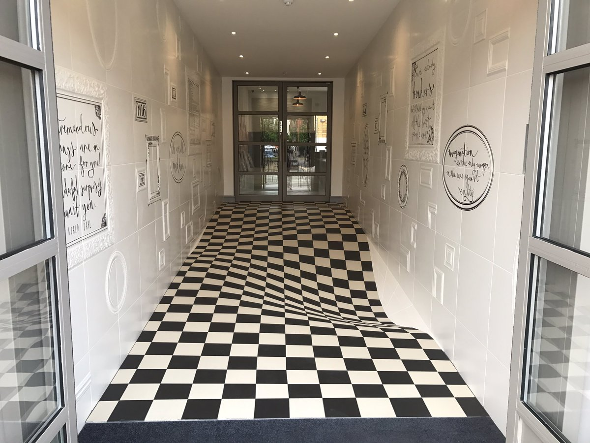 This Tile Company's Floor Is A Wild Optical Illusion 1